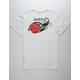 RVCA Lovestung Off White Mens T-Shirt