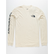 THE NORTH FACE Washed Logo Off White Mens T-Shirt