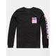 QUIKSILVER Pixel Screen Black Boys T-Shirt