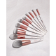 BH COSMETICS 10 Piece Marble Luxe Brush Set