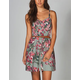 LOTTIE & HOLLY Washed Floral Dress
