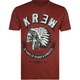 KR3W Black Feather Mens T-Shirt