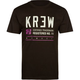 KR3W Registered Mens T-Shirt