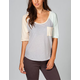 VOLCOM Pocket Blocket Womens Raglan Tee