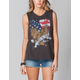 FULL TILT Live To Ride Womens Muscle Tee
