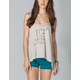 FULL TILT Love Letter Womens Bar Back Tank