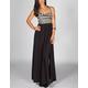 FULL TILT Ethnic Print Corset Maxi Dress