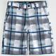 FOX Hydroessex Plaid Boys Hybrid Shorts