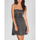 FULL TILT Washed Tube Dress