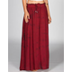 FULL TILT 2 Tone Wash Maxi Skirt