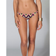 VITAMIN A Rainbow Ikat Reversible Bikini Bottoms