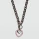 FULL TILT Heart Toggle Necklace