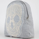 Embroidered Skull Backpack