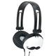 Mustache Headphones