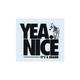 YEA.NICE Logo Sticker