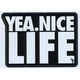 YEA.NICE Life Sticker