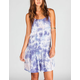 FIRE Tie Dye Drop Waist Dress