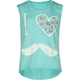 FULL TILT I Love Mustache Girls Muscle Tee