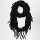 Jersey Knit Fringe Scarf