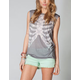 WORKSHOP Ribcage Womens Muscle Tee