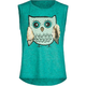 FULL TILT Owl Girls Muscle Tee