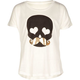FULL TILT Skull Mustache Girls Tee