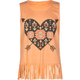 FULL TILT Aztec Heart Fringe Girls Tank