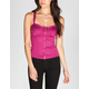 FULL TILT Zip Front Womens Corset Top