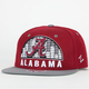 ZEPHYR Alabama Equalizer Mens Snapback Hat