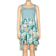 FULL TILT Chambray Print Girls Hi Low Dress