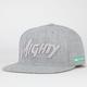 MIGHTY HEALTHY Mighty Tone Mens Snapback Hat