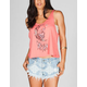 FULL TILT Tribal Half Moon Womens Tank
