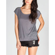 FULL TILT Stud Shoulder Hi Low Tee