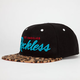 YOUNG & RECKLESS Cheetah Reckless Mens Snapback Hat