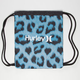 HURLEY Leopard Cinch Sack