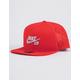 NIKE SB Aero Pro Red Mens Snapback Hat