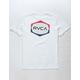 RVCA Unleaded White Boys T-Shirt