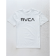 RVCA Big RVCA White Boys T-Shirt