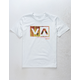 RVCA Rise Box White Boys T-Shirt