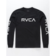 RVCA Big RVCA Black Boys T-Shirt