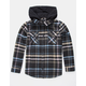 RVCA Essex Boys Hooded Flannel Shirt