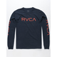RVCA Big RVCA Navy Boys T-Shirt
