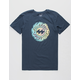BILLABONG Ooze Navy Boys T-Shirt
