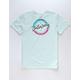 BILLABONG Eighty Six Sky Blue Boys T-Shirt