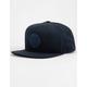 BRIXTON Wheeler Suede Navy Mens Snapback Hat