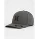 HURLEY Textures Flex Fit Black Mens Hat