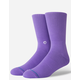 STANCE Icon Purple Mens Crew Socks