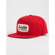 BRIXTON Jolt Red Mens Snapback