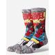 STANCE Spider-Man Comic Mens Crew Socks
