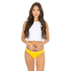 ETHIKA Retro Yellow Thong